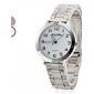 Steel analogique montre-bracelet à quartz pour femmes (couleurs assorties)