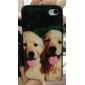 Söpö Puppy Pattern Hard Case for iPhone 4/4S