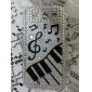 Shining Rhinestone Musical Note Pattern Hard Case for Samsung Galaxy S3 I9300