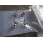 Lureme®Exquisite Mustache Alloy Earrings(2 Pairs)