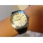 Automatische mechanische Armbanduhr für Männer mit Lederband