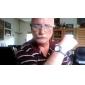 Unisex Alloy Analog Quartz Wrist Watch (Silver) Cool Watch Unique Watch