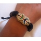 Fashion Leather Handmade Zodiac Bracelet-Pisces (BSS17)