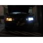 T10 3528 SMD 15-ledede 0.48w 40mA hvitt lys pære for bil (12V DC)-par