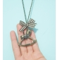 Wooden Horse Vintage Necklace