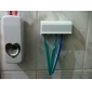 2-in-1 Automatic Toothpaste Squeezing Device + Toothbrush Holder