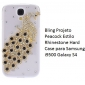 Bling Design Peacock Style Rhinestone Hard Case for Samsung Galaxy S4 I9500