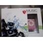 Mini Clip Plug-in Micro SD Card TF Card Reader MP3 Music Player - Pink