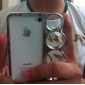 Special Design Knuckle Case for iPhone 4/4S (Assorted Colors)