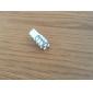 t10 3528 15-smd led 0.48w 40mA biała żarówka w samochodzie (12V)-pair