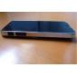 couleur unie brossé boîtier en aluminium dur pour l'iphone 5/5s (couleurs assorties)