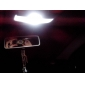 CAN-väylä festoon 39mm 1W 6x5050 SMD valkoinen LED auton merkkivalo