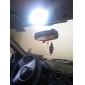 8x5050 42 milímetros SMD lâmpada de luz branca levou para o carro canbus (12V DC, 2-pack)
