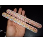 Flower Print Plastic Nail File(Random Colors)