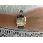 Women's Casual Style PU Analog Quartz Wrist Watch (Assorted Colors)