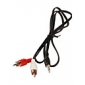 Cable 3.5mm Audio Jack (Macho) a Cable de Audio RCA (1'5M)