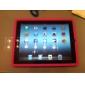 slim silikon etui til iPad 3 & ipad 4 (assorterede farver)