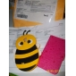 3D Design Bee Mönster Mjuk Väska till Samsung Galaxy S4 I9500 (blandade färger)