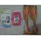 Conception 3D Soft Case Motif pingouin pour Samsung Galaxy Y Duos S6102 (couleurs assorties)