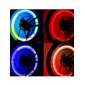 wechselnden Farben Gasdüse Rad Sicherheit Lichter für Fahrrad / Motor / Auto (2 Stück, 3xag10)