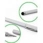 berøringsskjerm skrive stylus med kulepenn for iPad, iPhone, playbook, xoom og P1000 (sølv)