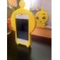 3D Design Chicken Pattern Soft Case for iPhone 4 ja 4S