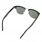 Oreka verde oscuro lente Black / White Frame Vintage Sunglasses (2 seleccionable Color)
