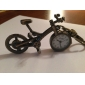 Unisex Alloy Analog Quartz Keychain Watch with Bicycle (Bronze)