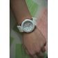 女性のゼリーの色のシリコンバンドクォーツ腕時計(アソートカラー)