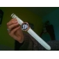 Unisex Genuine Leather Watch Strap 20MM(White)