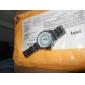 weide® 남성 시계 드레스 듀얼 타임 존 방수 아날로그 - 디지털 디스플레이 시계