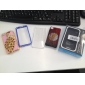Crystal Peacock Style Case for iPhone 4 and 4S (Assorted Colors)