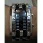 Мужской Часы Цифровой Модные часы LED / Календарь Нержавеющая сталь Группа Наручные часы