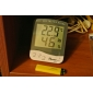 Digital LCD Indoor Temperature Hygrometer Thermometer TA218D