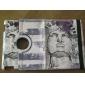 360 graders dreibar Face Sketch Pattern Full Body sak med stativ for iPad 2/3/4