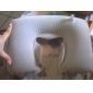 u-forme de coussin gonflable, jeu de visière et oreillettes