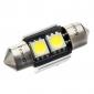 31 millimetri 2-1W LED 70-80LM 6000-6500K lampadina bianca per auto CANBUS (DC 12V)