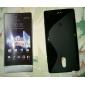 S-Shape Soft TPU Case for Sony Xperia P LT22i (Assorted Colors)