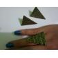 Retro Pyramid Opening Ring