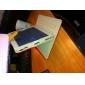 아이 패드 2/3/4 (분류 된 색깔)를위한 두 톤 격자 패턴 pu 가죽 상자