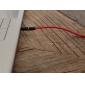 3,5mm audioconnector mannelijk naar mannelijk verlengaansluitkabel (1,2m)