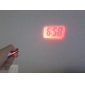 Mini Digital Time Projector Keychain Clock (Assorted Colors)