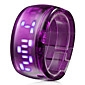 Bracelet Design Future Blue LED Wrist Watch - Purple