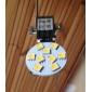 G4 1.5W 12x5050SMD 70LM 2700K teplá bílá LED bodovka (12V)