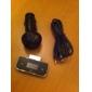 Transmetteur LCD FM + Chargeur de Voiture pour iPod/iPhone 4 - Noir