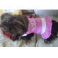 Cheering Squad Style Cotton Suspender Skirt for Dogs (S-M)
