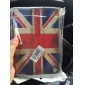 Retro Style The Union Jack Muster Durable PU Ledertasche mit Ständer für iPad Mini