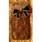 liga Joyland bowknot ornamento zircão coberto de volta caso para 5/5s iphone (cores sortidas)