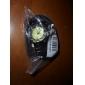 Analog Style Unisex moda reloj de cuero pulsera de cuarzo (colores surtidos)