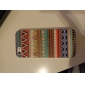 Multicolored Vaious Shaped Patterns Transparent Frame Hard Case for iPhone 5/5S